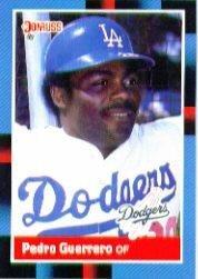 Amazoncom 1988 Donruss Baseball Card 278 Pedro Guerrero Mint