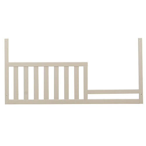 Baby Cache Montana Collection Toddler Bed Guard Rail, Glazed White (Large Cache)