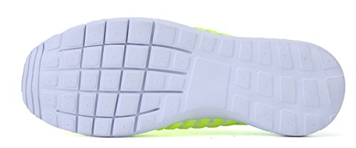 Shinysky Mujeres Causual Zapatos De Malla Transpirable Zapatillas Zapatillas Verdes
