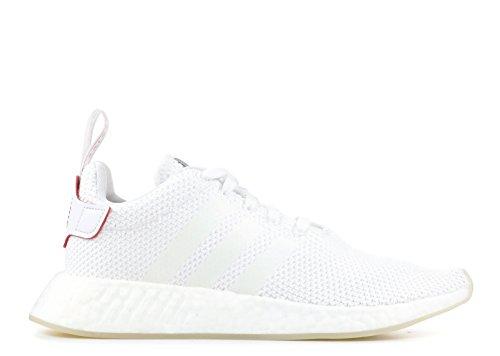 Adidas NMD_R2 CNY - Zapatillas deportivas, Hombre, Negro( Blanco (Ftwbla / Ftwbla / Escarl 000)