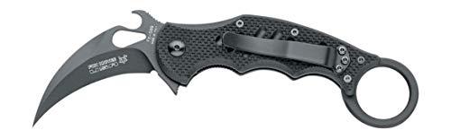 Fox 599 G10 Black Emerson Wave Folding Karambit