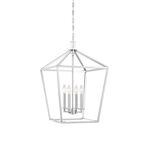 Savoy House Townsend 4-Light Foyer in Polished -