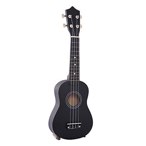 Forfar Wood Musical 21'' Acoustic Soprano Ukulele With Case Vintage Retro Instrument by Forfar