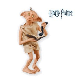 Gift For Dobby Harry Potter 2010 Hallmark Ornament