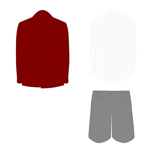 Home Comforts LAMINATED POSTER School Boy Uniform Illustrati