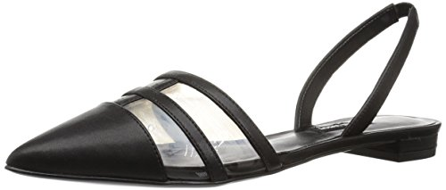 (Nine West Women's Available Synthetic Mule, Grey, 11 M US)