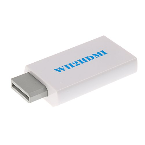 - Tendak Wii to HDMI Converter Output Video Audio Adapter - Supports All Wii Display Modes to 720P / 1080P HDTV & Monitor