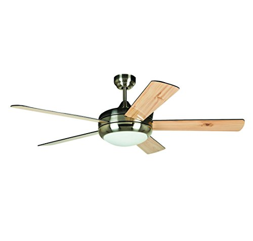 Ellington Titan 52  Ceiling Fan In Satin Chrome