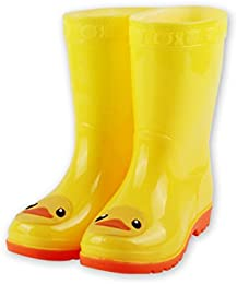 Amazon.com: Yellow - Rain Boots / Outdoor: Clothing Shoes &amp Jewelry