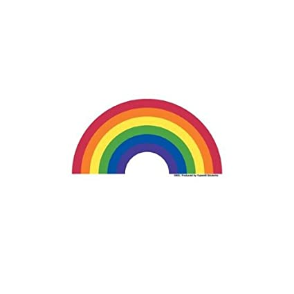 amazon com rainbow sticker decal automotive