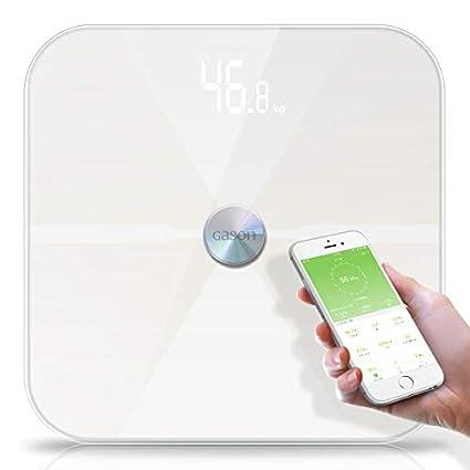 Báscula De Baño Inteligente, Bluetooth Body Fat Scale, Para El Peso Corporal, Grasa