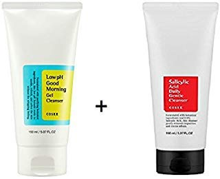COSRX Low pH Good Morning Gel Cleanser +Salicylic Acid Daily Gentle Cleanser SET