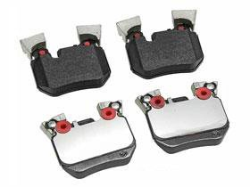 BMW 135 (10/10-2012) Brake Pad Set Rear GENUINE oem factory parts friction pads