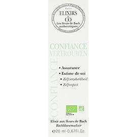 Elixirs & Co – Elixir Composé aux Fleurs de Bach Prêt à l'Emploi – Confiance – Les Fleurs de Bach – Bien être – Vegan…