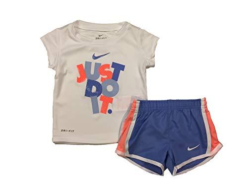 Nike Dri-Fit 'Just Do It' Tee & Short Set (Baby Girls) (12 Months) ()