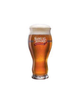 Samuel Adams Original Perfect Pint- Take Pride in Your Beer Beer Glasses (4)