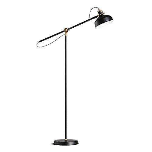 Lámpara de pie Simple Sala de Estar Retro sofá Dormitorio ...