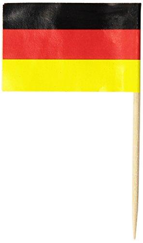 German Flag Picks   (50/Pkg)