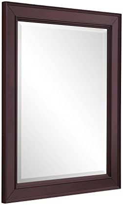 Napa 28-inch Bathroom Wall Mirror Chocolate