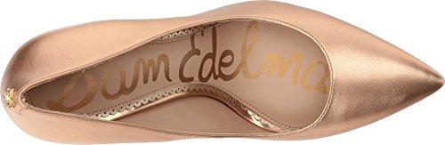 Sam Edelman Womens Hazel Dress Pump Gouden Koper Zacht Metaal Schapenleer