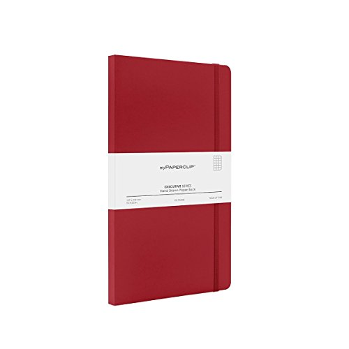 MyPaperClip Executive Series Checked Line Notebook 192 Pages 127 x 210 mm ESP192M-C Red (B017ITY7EU) Amazon Price History, Amazon Price Tracker
