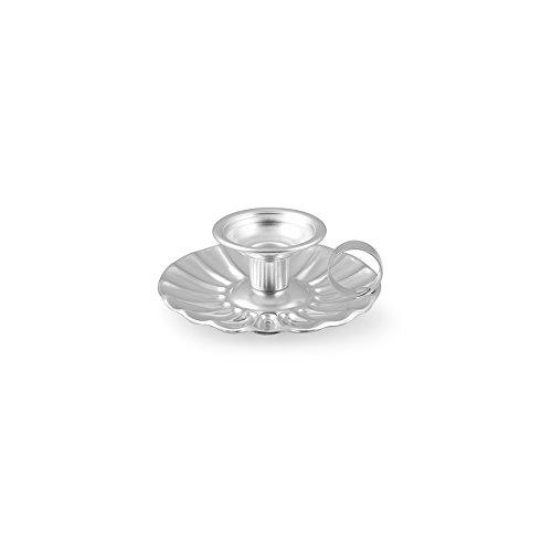 ITALO OTTINETTI portacandele 12cm, in alluminio, metallico, taglia unica Italo Ottinetti_1685012