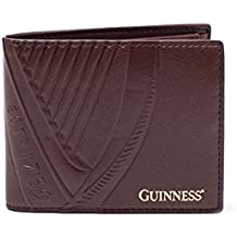 Guinness Wallet Classic Logo Official Brown Bifold