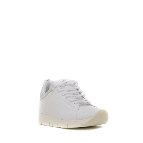 Shoes Leather Crown Donna 36 white 8UYd75E8XO