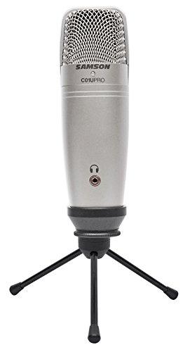 (Samson C01U Pro USB Studio Recording Podcast Podcasting Microphone Mic+Stand)