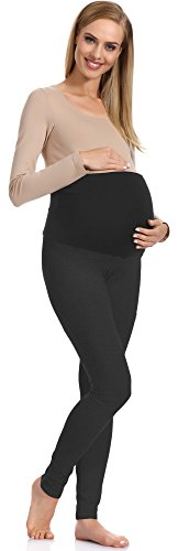 Be Mammy Maternidad Leggings para mujer 70 Antracita