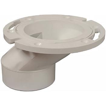 Genova Products 75160 40 PVC DWV Offset Closet Flange