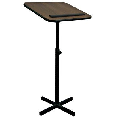 Amplivox W330 - Xpediter Adjustable Lectern Stand W330-WT by Amplivox
