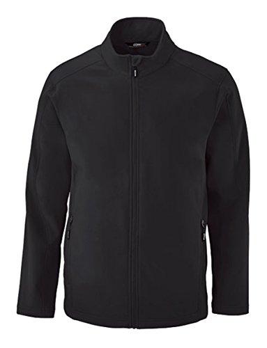 Coast Cruise Jacket (Core 365 Mens Cruise Two-Layer Fleece Bonded Soft Shell Jacket (88184)- Black 703,XX-Large)