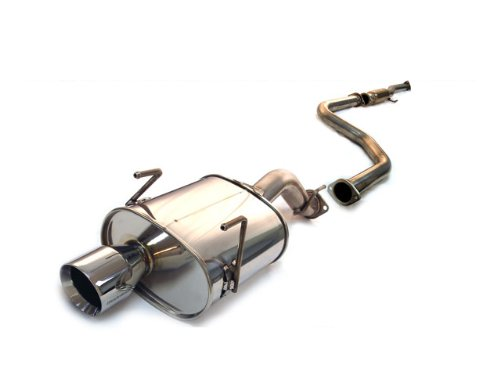 Tanabe T70004 Medalion Touring Cat-Back Exhaust System for Honda Civic Hatchback (Medalion Exhaust System)