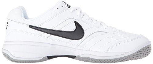 NIKE Men's Court Lite Tennis Shoe, White/Medium Grey/Black, 6.5 D(M) US by Nike (Image #7)