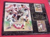 Hall of Fame Nolan Ryan 2 Card Collector Plaque