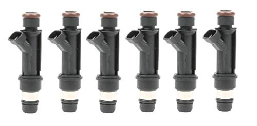 USA Re-manufactured OEM Fuel Injectors / 6-piece/GENUINE DELPHI/Part # 25166922 / for 1998-1999-2000-2001-2002-2003-2004 Isuzu Rodeo 3.2L 3.5L ()