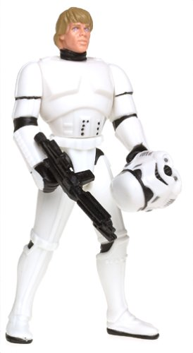 (Star Wars Power of the Force Freeze Frame Luke Skywalker in Stormtrooper Disguise Action Figure 3.75 Inches)