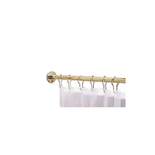 (Renovators Supply Manufacturing Brass Shower Curtain Rod 5' Feet Long)