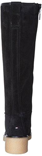 Tommy Hilfiger Damen M1285ia 4b Stiefel Schwarz (Black)