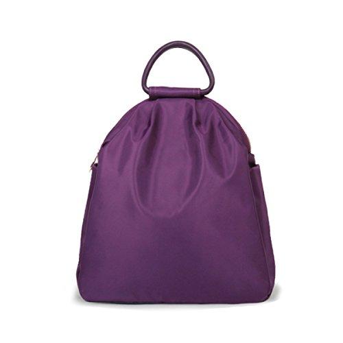 à Black Sac Femme à Purple Oxford D'achat Loisirs Sac Marée Par Dos Bandoulière Sac ZAIYI Dos à Sauvage Simple BSxqFdT