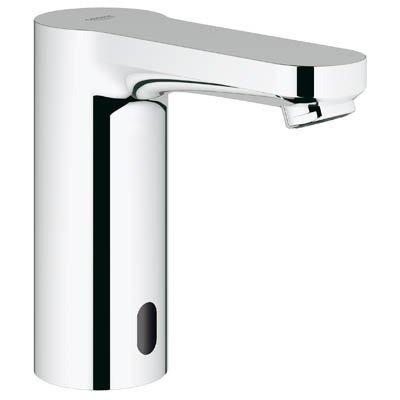 Eurosmart Eurosmart Single Hole (Eurosmart E Centerset Touchless Bathroom Faucet With Concealed Temperature)