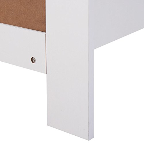 Costzon White Changing Table Dresser Baby Room Nursery Furniture Diaper Station 3 Drawer by Costzon (Image #8)
