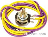Star Mfg Gd-115351 Heat Control Bottom Potentiometer W/Wire Leads Holman/Star Oven 314Hx 461404