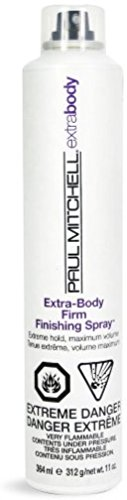 Paul Mitchell Extra-Body Firm Finishing Spray Hair Spray, 11 oz (Pack of 6) by Paul Mitchell