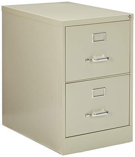 2 Legal Drawer - Lorell 2-Drawer Vertical File, Legal, 18 by 26-1/2 by 28-3/8-Inch, Putty