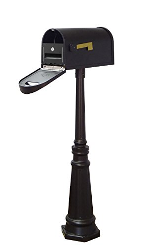 Special Lite Products Company Classic Curbside Mailbox With Locking Insert And Tacoma Mailbox (Special Lite Classic Curbside Mailbox)