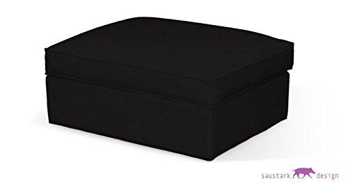 Saustark Design saustark design münchen cover for ikea kivik stool black