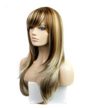 [Premium wigs liap European and American fashion cosplay wig long straight hair] (Hollywood Celebrities Halloween Costumes)