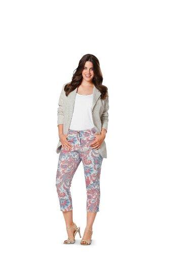 Burda 6951 B Couture modello pantaloni 19 x 13 cm